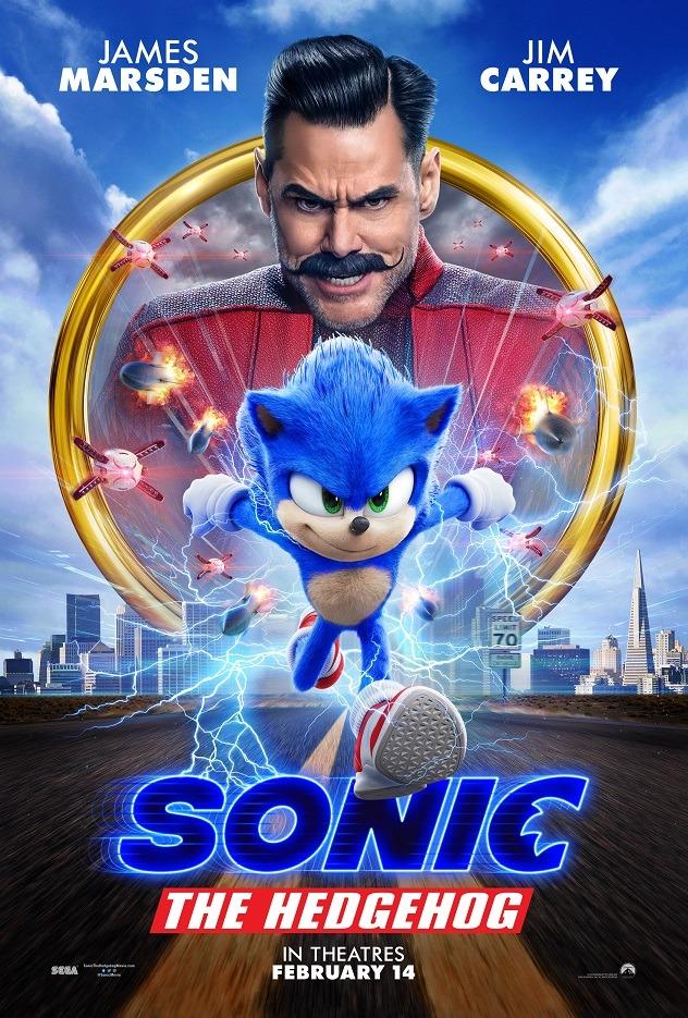 2020年十大最佳電影 音速小子 超音鼠大電影 刺蝟索尼克 sonic the hedgehog