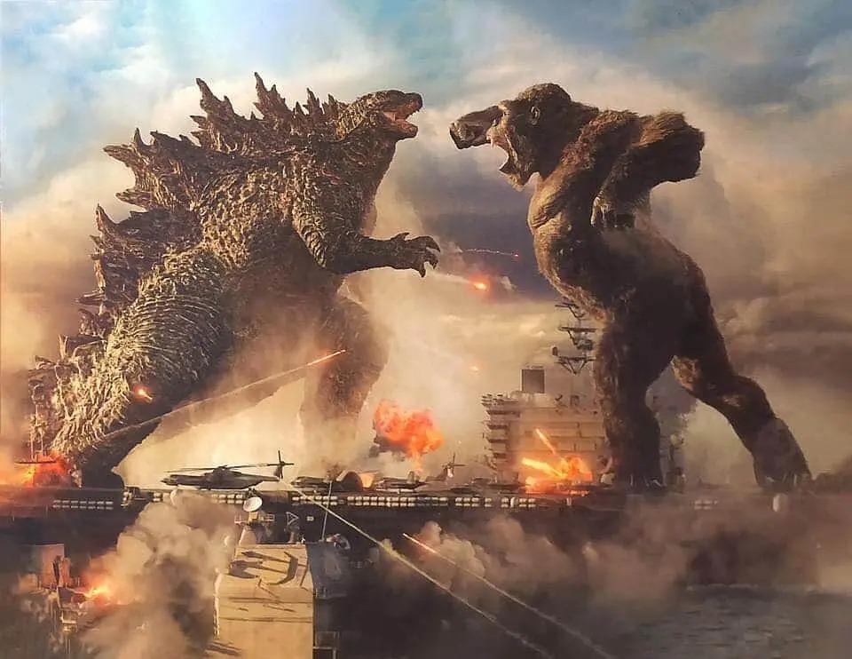 美國大片《哥吉拉大戰金剛 哥斯拉大戰金剛 godzilla vs kong》影評 是一部視覺震撼的動作大片,是必看的怪獸電影之一