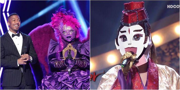 美國翻拍韓國綜藝(蒙面歌王복면가왕——美版蒙面歌王the masked singer)