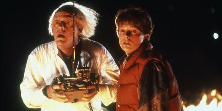 十部史上最具影響力的科幻電影《回到未來 back to the future 》