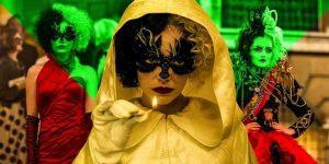 《時尚惡女 庫伊拉 黑白魔後》服裝造型解析,戰袍解密,從estella變cruella,真人版就是動畫前傳?