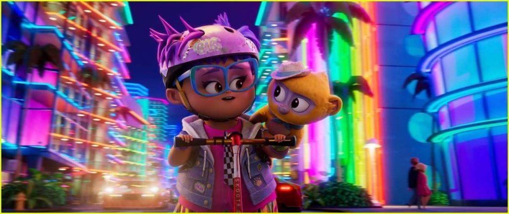 影評《維沃的精彩生活 蜜熊仔維沃vivo 》netflix評價 一部美妙的兒童音樂動畫電影,一個溫馨的冒險故事 04