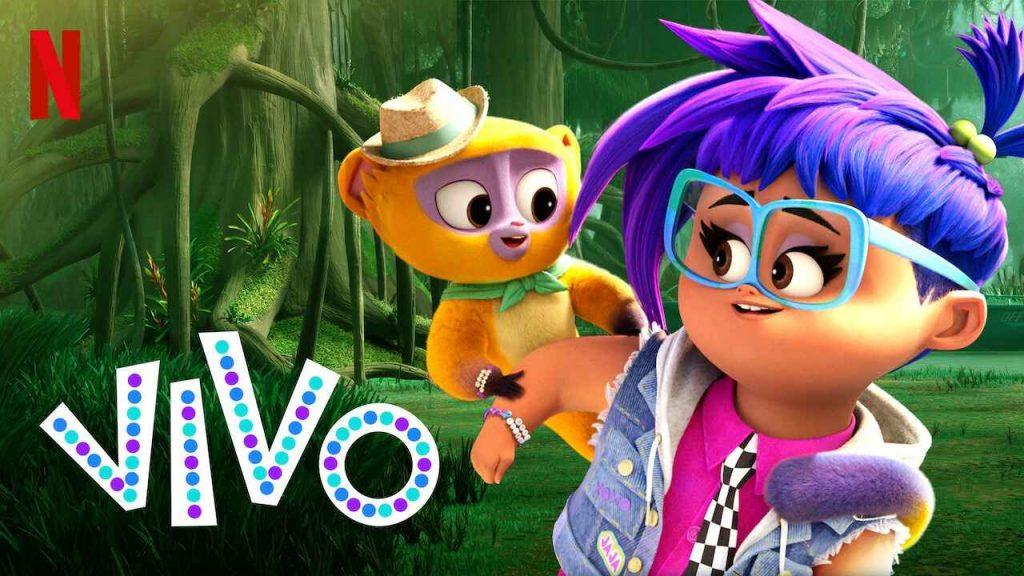 影評《維沃的精彩生活 蜜熊仔維沃vivo 》netflix評價 一部美妙的兒童音樂動畫電影,一個溫馨的冒險故事 02