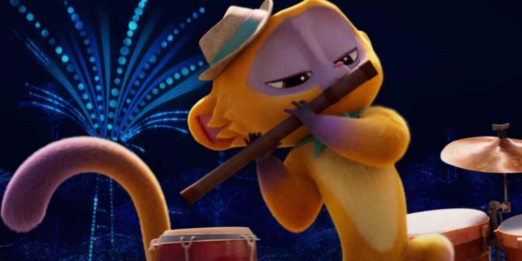 影評《維沃的精彩生活 蜜熊仔維沃vivo 》netflix評價 一部美妙的兒童音樂動畫電影,一個溫馨的冒險故事 01