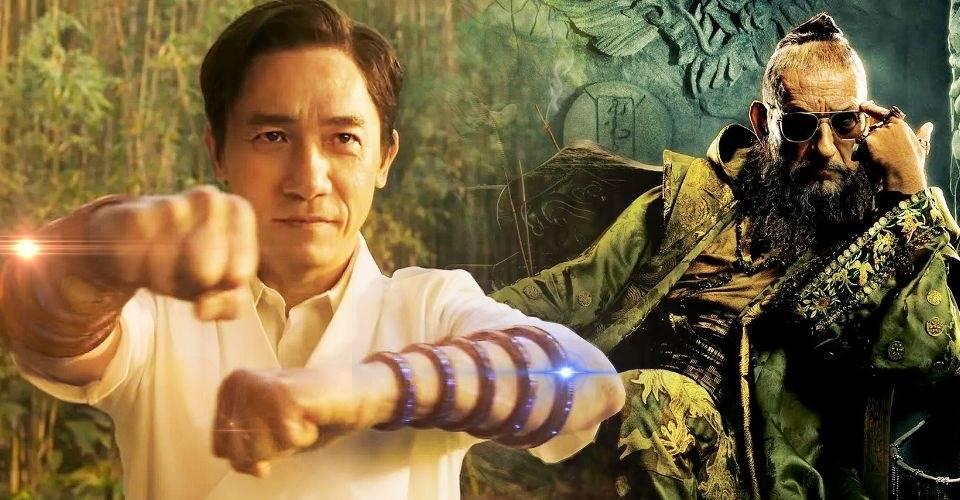 《尚氣與十環傳奇》梁朝偉(Tony Leung)飾演尚氣的父親文武也非常出色,他是漫畫中的「滿大人」